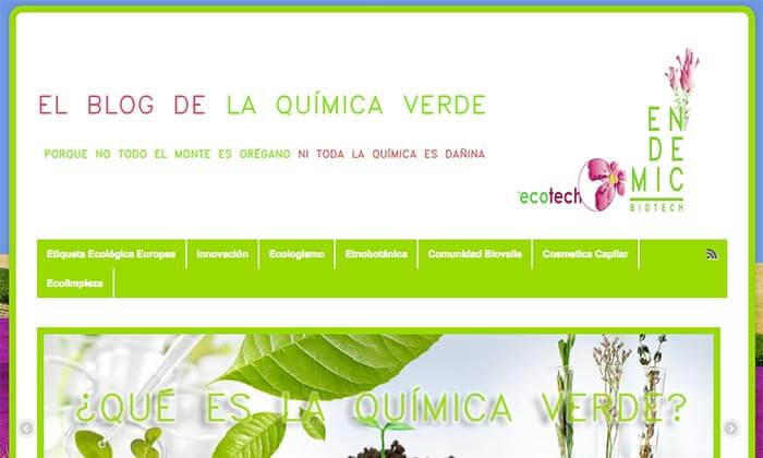 El blog de la química verde