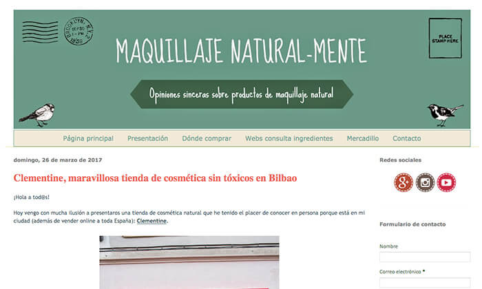 Maquillaje natural-mente