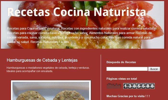 Recetas cocina naturista - Ecosfera Club