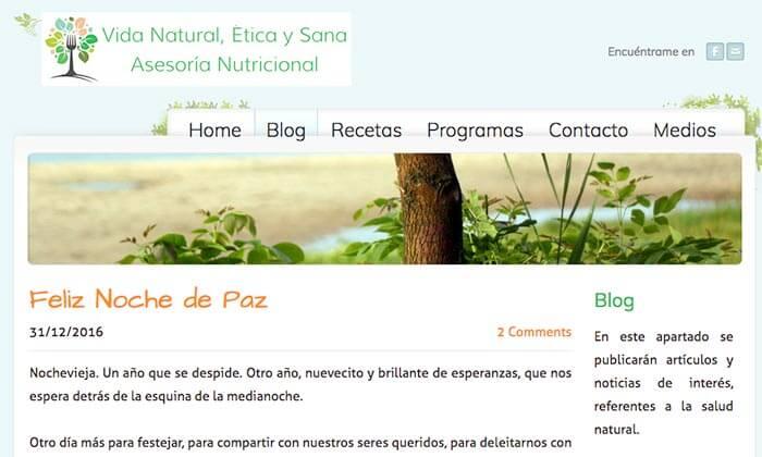 Vida natural, etica y sana