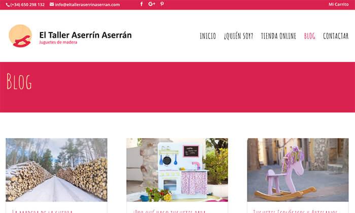 El taller de Aserrín Aserrán